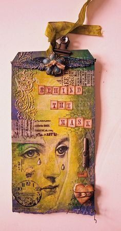 Art Journaling i have done this for years, but these gave me whole wave of inspiration.