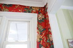 Aesthetic Oiseau: DIY Fabric Wallpaper in My Kitchen