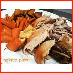 A platter of sliced roast turkey and vegetables (sweet potato, pumpkin, carrot and parsnip). #lunch #christmas #paleo #primal #huntergatherer #jerf #cleaneat #naturalfood #vegetables #turkey #lowcarb #goodfats #glutenfree #dairyfree #naturalfood #freshing