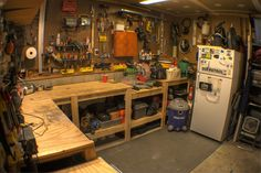 684 Best Woodworking Shops And Garages Images In 2019