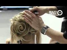 Georgy Kot Hair tutorial. Rose.
