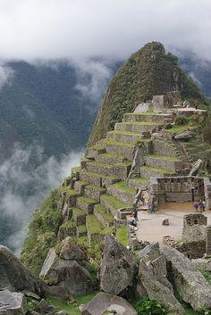 Machu Picchu . Peru