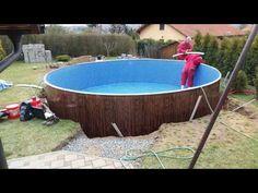 stavba bazénu Azuro 403 - YouTube