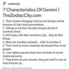 #Repost #gemini #zodiaccity