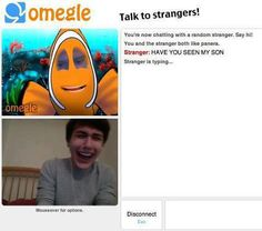 funny omegle sceenshot funny finding nemo