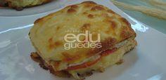 Pão de batata doce sem glúten e Patê de parmesão | Receitas Edu Guedes – Site Oficial