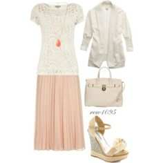 Pink and cream
