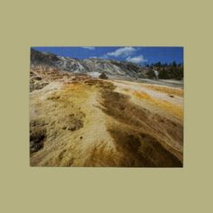Mammoth Hot Springs Jigsaw Puzzle-Yellowstone National Park http://www.zazzle.com/mammoth_hot_springs_jigsaw_puzzles-116988903122146135?238712894402317539