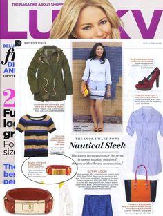 (February 2011) @Lucky Magazine: the Dylan Bracelet from @REVOLVE Clothing