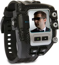 Wear this and never get laid again. Latest Coolest gadgets – Ultimate Spy Watch – New high technology . Spy Gadgets, High Tech Gadgets, Gadgets And Gizmos, Electronics Gadgets, Cool Gadgets, Mens Gadgets, Office Gadgets, Travel Gadgets, Technology World