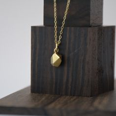 Fionn Matt 'Gem' necklace. Gold, simple, modern sparkle Rose Gold Chain, Gold Necklace, Pendant Necklace, Gem S, Or Rose, Sterling Silver Chains, Sparkle, Collections, Jewelry