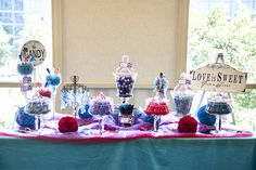 Candy Buffet by Sweets from Heaven Photo By Jason Burns Photography