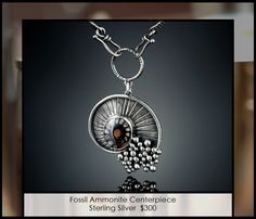 ESSENTIALS-Fossil-Ammonite-Centerpiece by Amy-Buettner