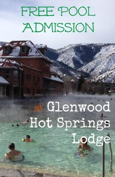 Free Pool Admission at Glenwood Hot Springs Lodge in Colorado. Plus pros and cons from our stay.
