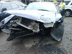 This is what was left of my 2003 Mustang after a Tacoma Police Officer turned left in front of me at the intersection of 11th and Sprague on May 30, 2012.