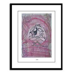 Yoga Love - Large Framed Print