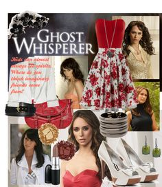 """""""ghost whisperer"""" by morethanwords on Polyvore"""