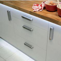 Cabinet Lighting - Hafele Basik 12V Low Voltage LED Ribbon | KitchenSource.com