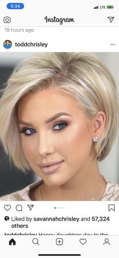 Short Shag Hairstyles, Bob Hairstyles For Fine Hair, Short Hairstyles For Women, Pretty Hairstyles, Best Short Haircuts, Medium Hair Styles, Short Hair Styles, Stacked Hair, Stylish Short Hair