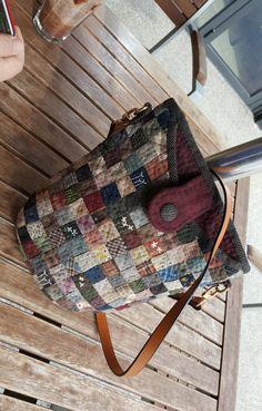 2cm 조각 패치 크로스가방 : 네이버 블로그