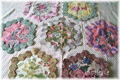 from Broderie blog.  Need to do a quilt like this.  Gorgeous!