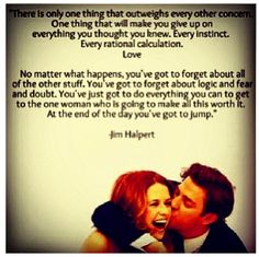 Love like Jim and Pam
