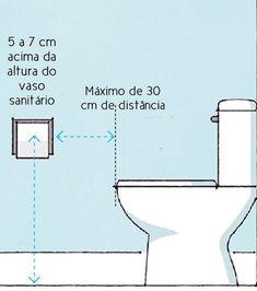 Kausben: MEDIDAS IMPORTANTES E IDEIAS DE DISTRIBUIÇÃO NO BANHEIRO