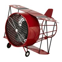 Desk or Tabletop Airplane Fan