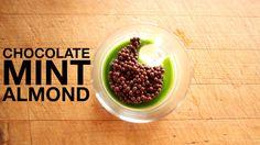 Chocolate, Mint, Almond Custard Recipe
