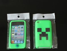 80326480 Minecraft Silison Case Cover for iPod Touch4#Yupoo makeup #cosmetic # Minecraft Nintendo Consoles