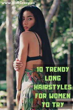 Here is a list of 10 great long hairstyles — thoughts for how to style long hair. Hairstyles For Round Faces, Long Hairstyles, Fine Hair, Wavy Hair, Teenage Makeup, Easy Everyday Hairstyles, Long Hair Models, Hair Rings, Braided Ponytail