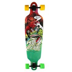 San Clemente World Is Ending Bamboo Complete Longboard Skateboard $179.95 at Action Board Sports