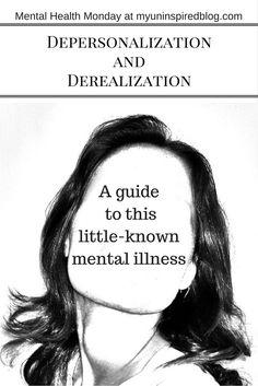Mental Health Monday - Molly - Depersonalization Disorder