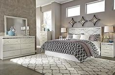 Bedroom Sets 20480: B351 Dreamur 4 Pcs King Cal King Panel Headboard Bedroom Set -> BUY IT NOW ONLY: $1220.99 on eBay!