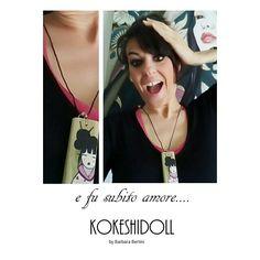 E fu subito Amore....indossa una Kokeshidoll e seguimi sul blog Croceart.wordpress.com