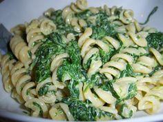 Pasta panna e #spinaci
