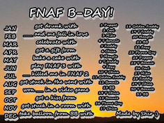 Got kissed by Golden Freddy >\\\\\\\< comment what you get!!!