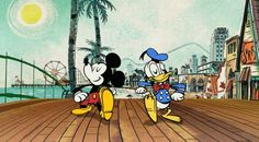 "New Mickey Mouse short ""no service"" 
