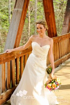 Roswell Covered Bridge, wedding, bridal portrait