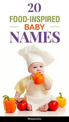 Food baby names are trending of late. So, satisfy the foodie in you by giving your child a food-inspired name. Check out our list of such delicious names.