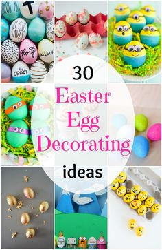 30 Easter Egg Decora