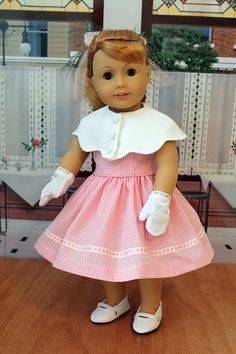Special Order 1950's Dress for 18 Inch Dolls by BabiesArtUs