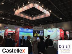 Castellex engineers visiting Japanese stand at DSEi London Exel 2017 to look for latest technologies for nuclear-bunkers nuclear-shelters survival-shelters NBC-air-filtration CBRN-air-filtration