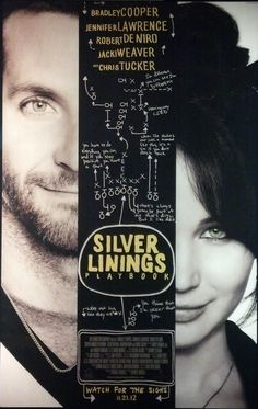 Silver Linings Playbook...okay...maybe you have seen this one...but it's a word-of-mouth movie and my favorite of 2012.