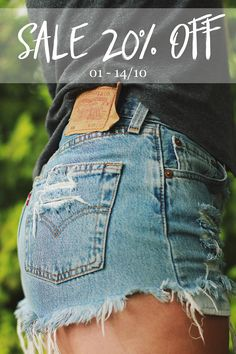 I've got surprise for you! From tomorrow and just for next two weeks you can purchase items from Sisu Denim with 20% discount! Sale includes all of the shorts, jackets and long jeans. 😍  Find something just for you at my Etsy shop: http://sisudenimstore.etsy.com  #denimshorts #destroyeddenim