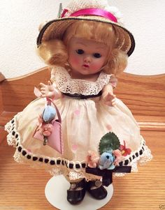 """VINTAGE VOGUE GINNY Doll, """"CATHY"""" 1953 #61 from Debutante Series ~FANCY~"""