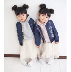 #minnie mouse anthr version.. Cute Asian Babies, Korean Babies, Asian Kids, Cute Babies, Twin Baby Girls, Twin Babies, Baby Kids, Toddler Swag, Toddler Girl