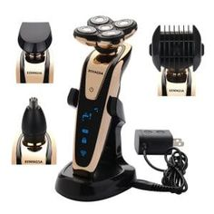BEMAGSA Electric Shaver Headed Flex Wet and Dry Waterproof Electric Razor Rotary Shaver for Details can be found by clicking on the image. (This is an affiliate link) Best Electric Razor, Best Electric Shaver, Brush Cleaner, Best Shavers, Trimming Your Beard, Foil Shaver, Shaving & Grooming, Facial Cleansing Brush, Products