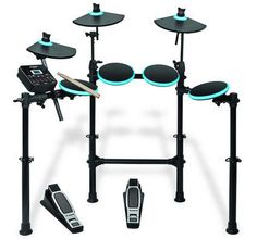 Buy Alesis Drums DM Lite Kit - Complete Electric Drum Set with Sounds, LED Illuminated Drum / Cymbal Pads, Drum Sticks and Pre-Assembled Rack. Usb, E Drum Set, Drum Sticks, Electric Drum Set, Digital Drums, Drum Pad, Music Store, Drum Kits, Running The Gauntlet