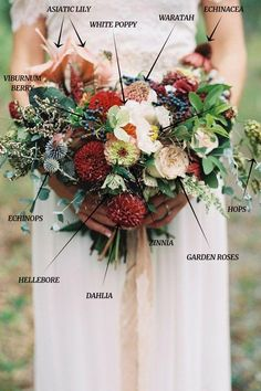 Chic Vintage Wedding Bouquets